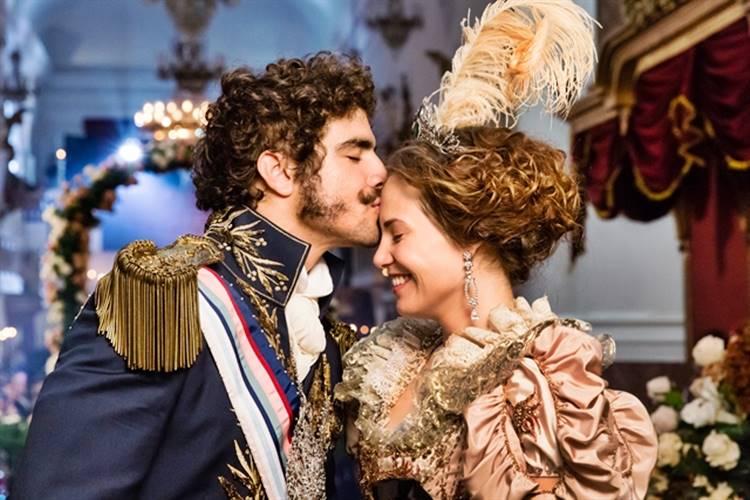 Novo Mundo - Dom Pedro e Leopoldina se casam (Globo/ Tata Barreto)