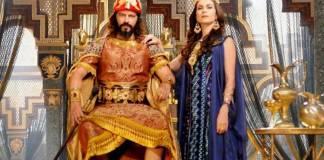 O Rico e Lázaro - Rei e Rainha da Babilônia (Munir Chatack/ Record TV)