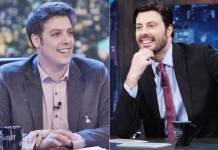 Porchat e Gentili (Edu Moraes/Record TV/SBT)
