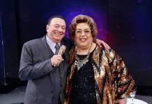 Raul Gil e Mamma Bruschetta (Rodrigo Belentani/SBT)