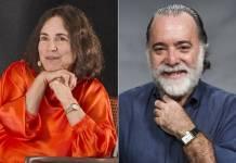 Regina Duarte e Tony Ramos (João Cotta/Caiuá Franco/Globo)