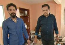 Roberto Rossi e Geraldo Luís (Reprodução/Record TV)