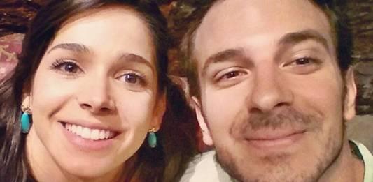 Sabrina Petraglia com o namorado/Instagram