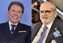 Silvio Santos e Jô Soares (Lourival Ribeiro/SBT/Globo/Ramón Vasconcelos)