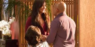 Sol Nascente - Hirô anuncia gravidez (Reprodução/Ellen Soares/Gshow)