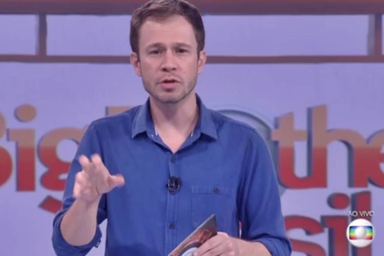 Tiago Leifert (Reprodução/TV Globo)