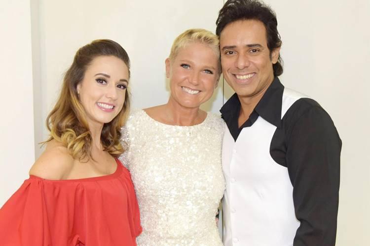 Alê - Xuxa - Guilherme (Blad Meneghel e Edu Moraes/Record TV)