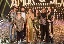 Amor e Sexo - Fernanda Lima com elenco (Globo/Ney Coelho)