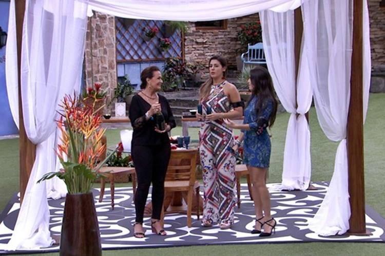BBB17 - Finalistas almoçam  (Reprodução/TV Globo)