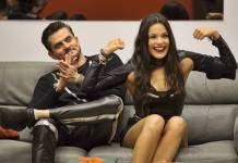 BBB17 - Marcos e Emilly (Globo/Fabio Rocha)