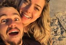 Carol Dantas com o namorado/Instagram