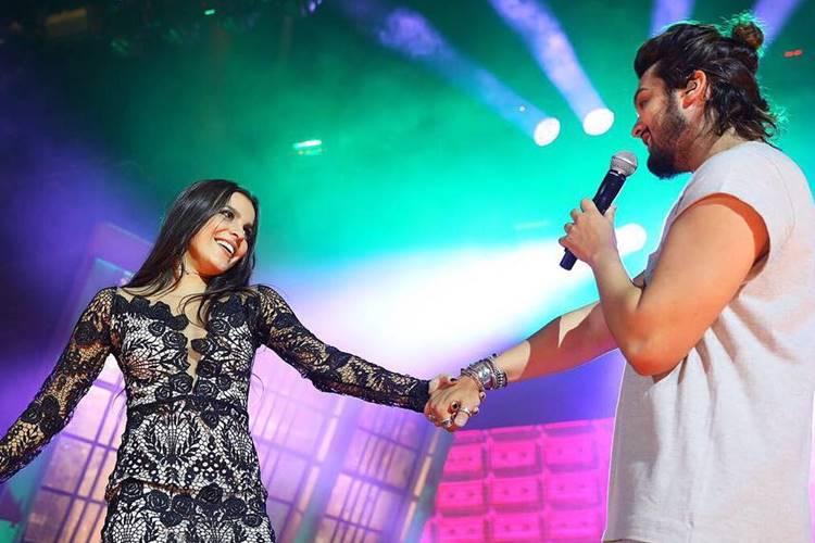 Emilly e Luan Santana (Instagram/Foto:rubenscerqueira)