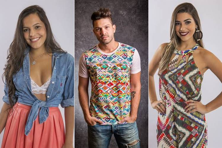 Emilly - Luiz Felipe - Vivian (Globo/Artur Meninea/Paulo Belote)