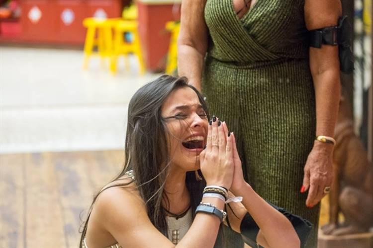 Final BBB17 - Emilly campeã (Globo/Paulo Belote)