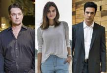 Marcelo Serrado - Camila Queiroz - Mateus Solano (Estevam Avellar/Fabio Rocha/César Alves/Globo)