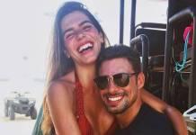Mariana Goldfarb e Cauã Reymond/Instagram