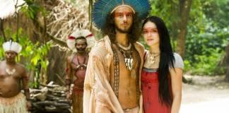 Novo Mundo - Joaquim e Annna e casam (Globo/João Miguel Júnior)