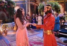 O Rico e Lázaro - Evil Merodaque fica noivo de Shamiran (Munir Chatack/ Record TV)