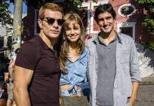 Os Dias Eram Assim - Vitor - Alice e Renato (Globo/Sergio Zalis)
