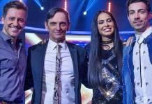 Rick Bonadio, Paulo Miklos, Alinne Rosa e Di Ferrero