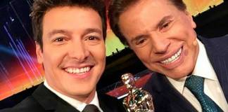 Rodrigo Faro e Silvio Santos/Instagram