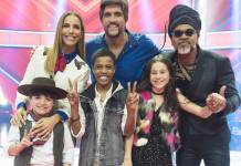 Finalistas - The Voice Kids ( Globo/Cesar Alves)
