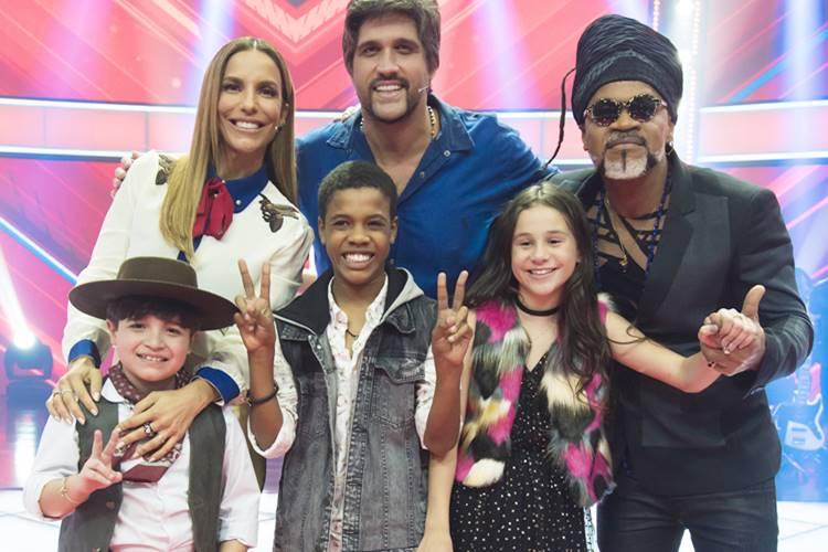 Finalistas - The Voice Kids ( Globo/Cesar Alves)