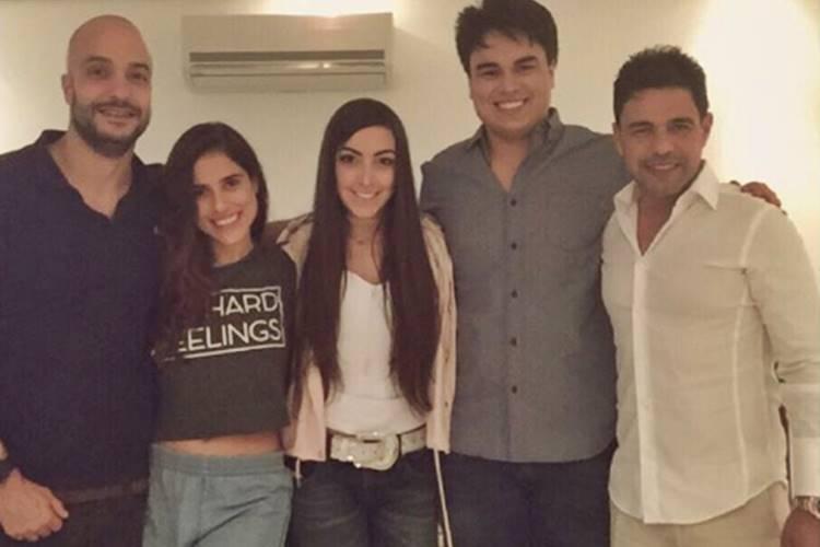 Zezé com a família/Instagram