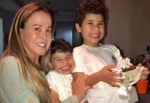 Zilu com os netos/Instagram