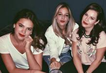 Bruna Marquezine e Fernanda Souza/Instagram
