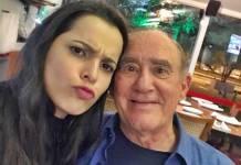 Emilly Araújo e Renato Aragão/ Instagram