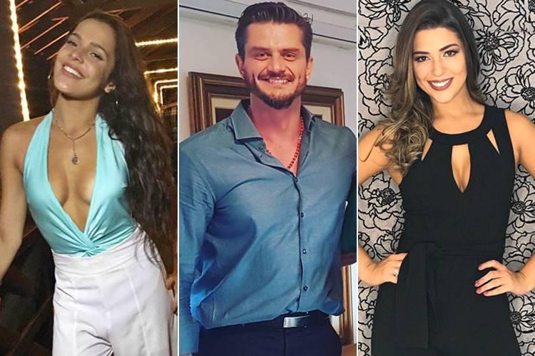 Emilly Araújo, Marcos Harter e Vivian Amorim / Instagram