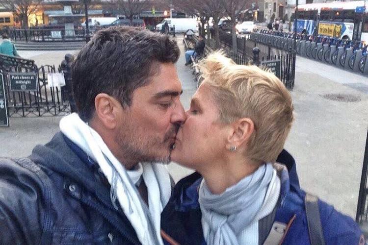Junno Andrade e Xuxa Meneghel/ Instagram