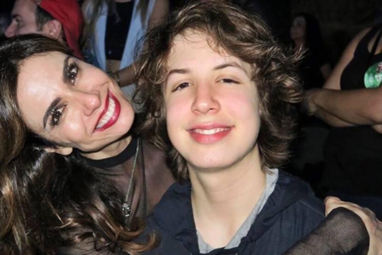 Luciana Gimenez e Lucas Jagger/ Instagram
