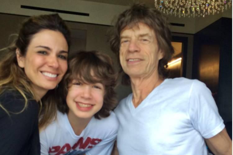 Lucas, filho de Luciana Gimenez e Mick Jagger, completa 18 anos