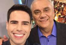Luiz Bacci e Marcelo Rezende/ Instagram