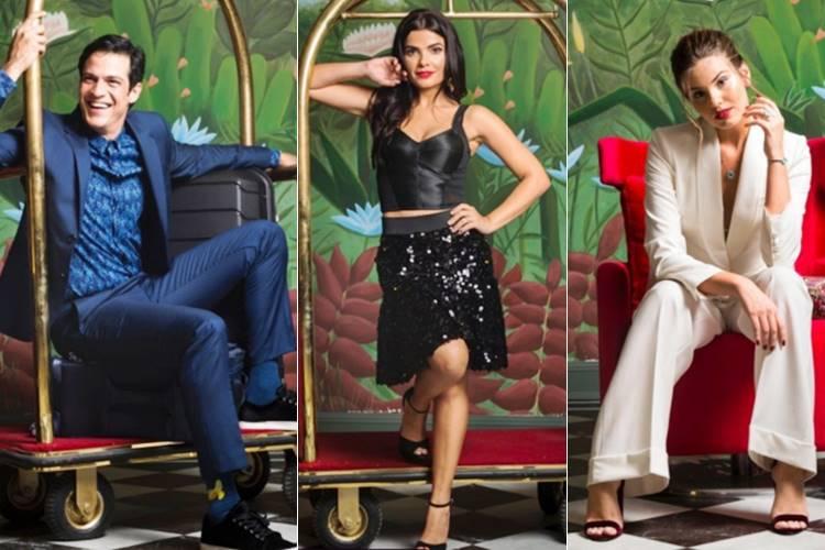 Mateus Solano, Vanessa Giácomo e Camila Queiroz (Reprodução/ Instagram/Globo/ Fotos: João Cotta)