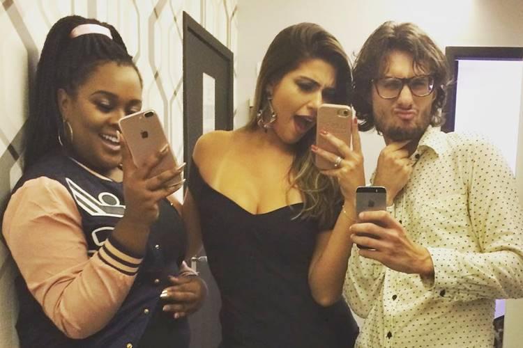 Roberta, Vivian e Pedro/ Instagram