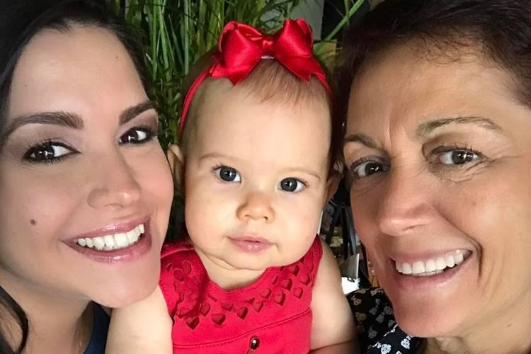 Thais Fersoza, Melinda e Glória Cristina dos Santos / Instagram