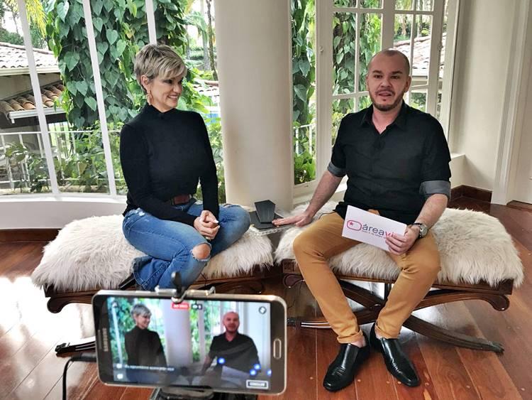 Andréa Nóbrega e Fabinho Almeida (Foto: Cris Pereira)