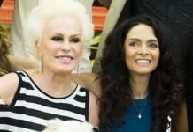 Ana Maria e Claudia Ohana (Globo/Raquel Cunha)