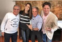 Carlos Alberto, Cris Flores, Mesquita e Carlos Bertolazzi (Gabriel Cardoso)