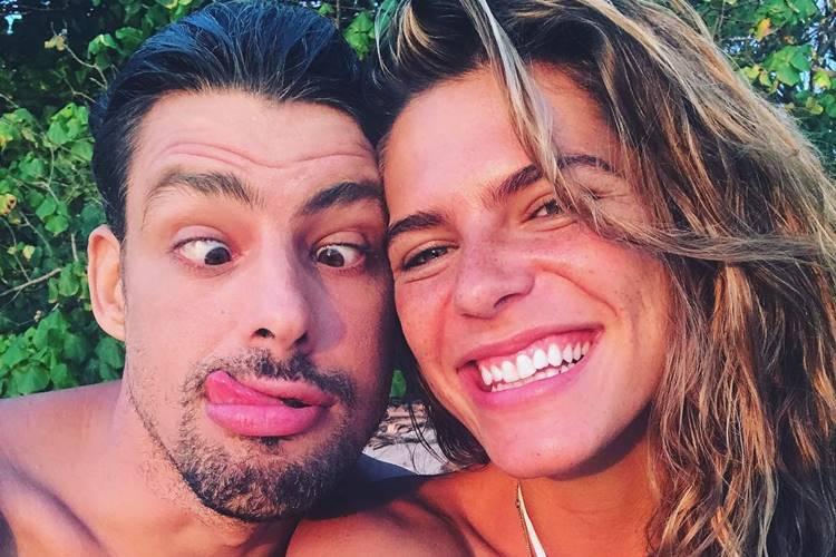 Cauã Reymond e Mariana Goldfarb/ Instagram