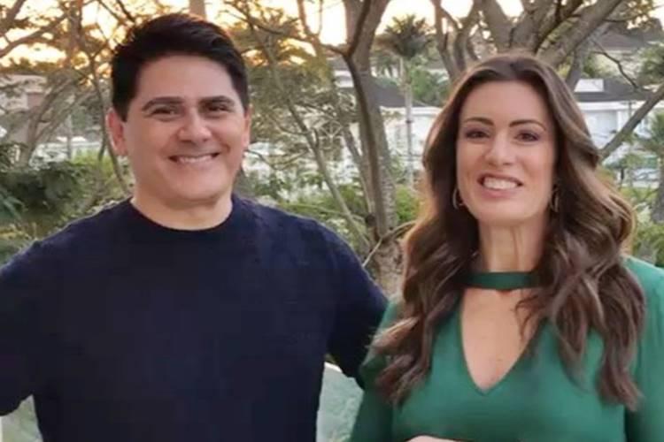 César Filho e Elaine Mickely/ Instagram