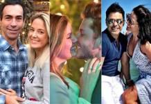 Cesar Tralli e Ticiane Pinheiro - Camila Queiroz e Klebber Toledo - Zezé e Graciele Lacerda/Instagram