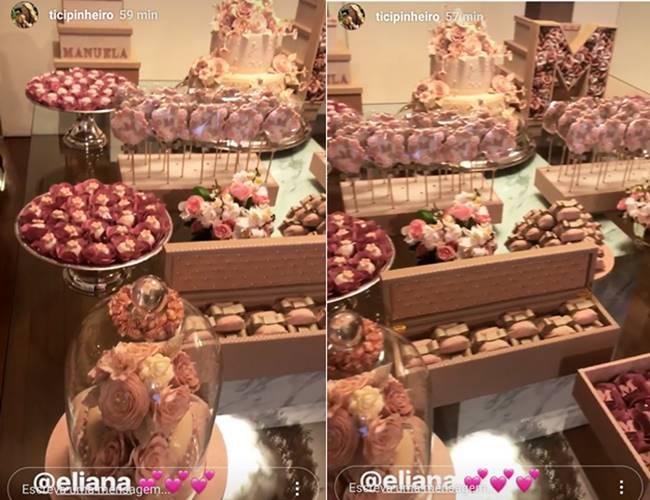 Chá da Bebê - Eliana/Instagram