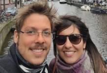 Fabio Porchat e Nataly Mega/Instagram