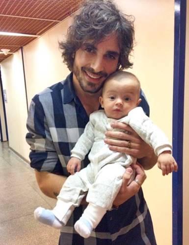 Fiuk com o filho da novela/Instagram