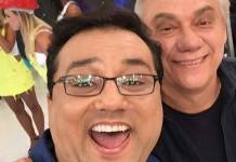 Geraldo Luis e Marcelo Rezende/ Instagram