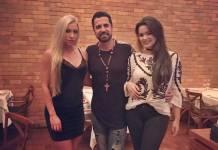 Jéssica Rodrigues, Latino e Suzanna Freitas/ Instagram